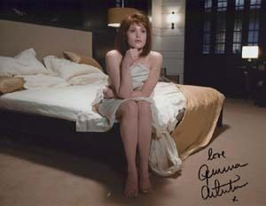 Gemma Arterton 007 James Bond Autograph QoS Full Signature