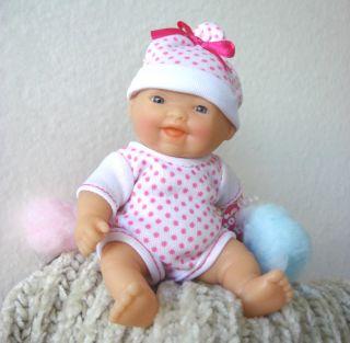 PRECIOUS GREY EYE 5 BABY GIRL DOLL ROMPER SET FITS 5 BABY DOLL