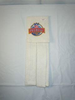 New England Patriots Worn Pro Bowl Towel Vinatieri Authentic COA