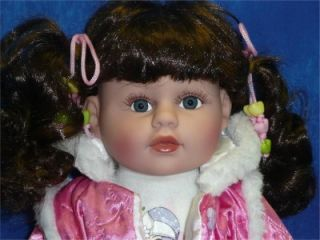 18 IN VINYL DOLL ASHLEY CATHAY COLLECTION NEW!!