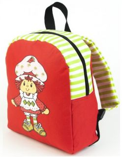 Shortcake Cartoon Movie Rag Doll Girls Red Mini Backpack Bookbag Bag