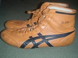 Rare Asics Dan Gable Tiger Wrestling Shoes Nike kolat rulon inflict