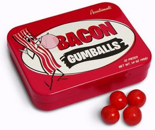 Bacon Gumballs Bacon Flavored Gum Gag Gifts Party Favor