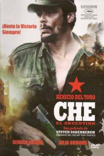 Che El Argentino 2009 Part 1 Benicio Del Toro New DVD