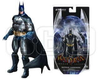 Armored Batman Figure Arkham Asylum Action City Dark Knight DC Direct