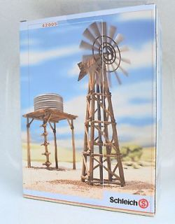 SCHLEICH 42005 WATERPUMP STATION & WINDMILL  WILDLIFE  NEW IN SEALED