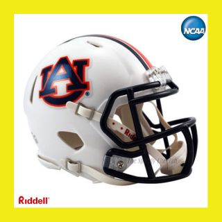 AUBURN TIGERS OFFICIAL NCAA MINI SPEED FOOTBALL HELMET by RIDDELL