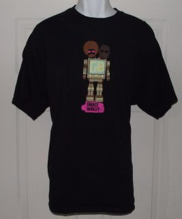 GNARLS BARKLEY Cee Lo Danger Mouse Band CONCERT Music Black T Shirt