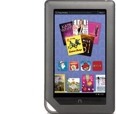 Barnes and Noble, HP, NOOK Color, Model Number BNRV200