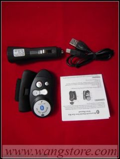 Bluetooth Handsfree Car Kit Wireless Speaker Phone New