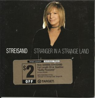 Barbra Streisand Bee Gees Barry Gibb Stranger in Land Limited Target