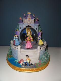 Princess Snowglobe Musical Dancing Aurora Snow Ariel Cinderella