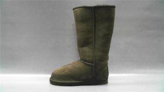 Aussie Dogs Coaster Tall Womens Solid Casual Boots 6 Medium M