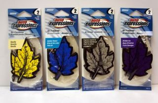Lot of 20 2 Packs of Auto Expressions Car Air Fresheners 40 Total