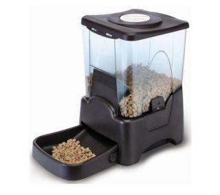Automatic Pet Dog Cat Food Feeder Portion Control New