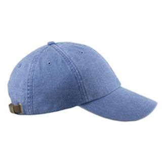 Adams 6 Panel Low Profile Pigment Dyed Baseball Cap 100 Garment Washed