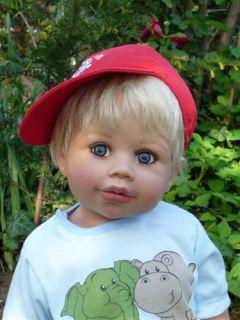 New Jayden Blonde Undressed Monika Levenig Masterpiece Doll Real Boy