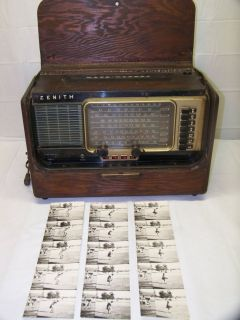 Babes Own Zenith Transoceanic Short Wave Radio Babe Zaharias Estate