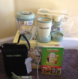 Baby Bullet Food Making and STORING System Set with Box