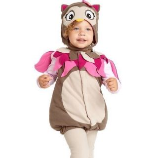 Old Navy Baby Toddler Girl Owl 3P Halloween Costume 3 6 Months