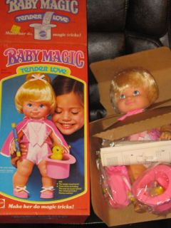 NEW MINT VINTAGE 1978 Baby Magic Tender Love Doll wBOX ** FREE HOLIDAY
