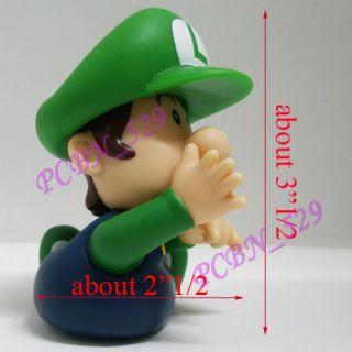 Bros Action Figure  Baby(Mario, Fire Mario, Luigi, Fire Luigi & Peach