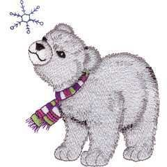Brother Babylock Embroidery Machine Card Polar Pals