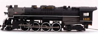 Bachmann HO Scale Train 2 8 4 Berk DCC Equipped Pere Marquette #1225