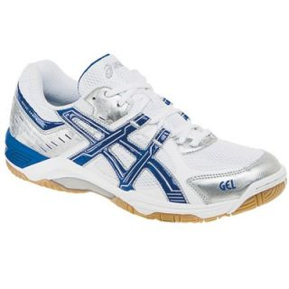 Asics Gel Rocket 4 BN803 0155 Mens Indoor Court Volleyball Shoes Wht