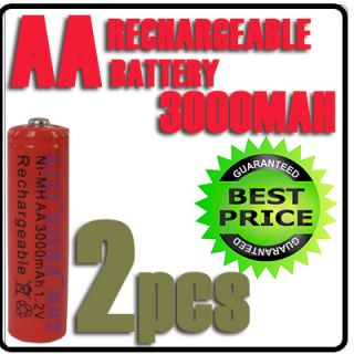 2V Ni MH Red Color Rechargeable Battery Alarm Clock  RC