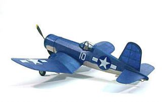 F4U Corsair 213 Dumas Balsa Wood Model Airplane Kit