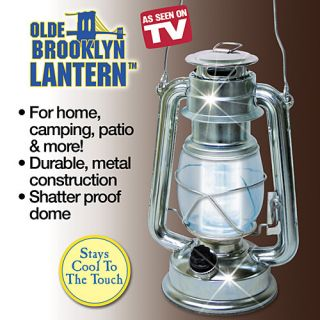 Lantern As Seen On TV Battery Operated Bright Light No Wires LED