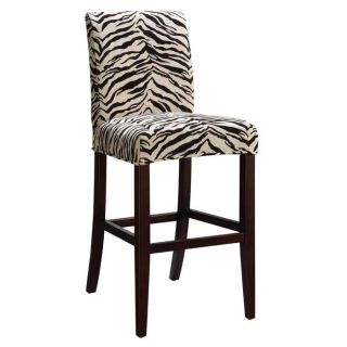 Tabouret 24 Inch White Metal Counter Stools Set Of 2