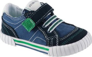 New Infant Toddler Boys Stride Rite Caleb Navy Shoes Sneakers Many