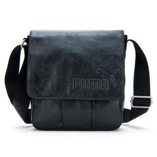 Brand New Puma Bandon Small Shoulder Messenger Bag Black 07071901