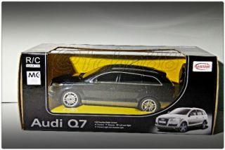 Rastar Remote Control Car RC 1 24 Black Audi Q7 Transmitter Christmas