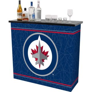 Winnipeg Jets NHL Hockey Portable Bar with Carrying Case Beer Liquor