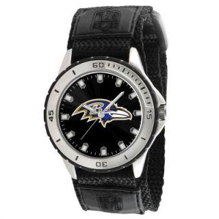 Baltimore Ravens NFL Football Wrist Watch Wristwatch Velcro Strap