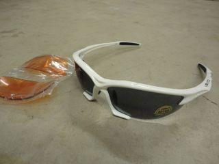 d01ba971332 ... Barbieri Vento Multi Lens Cycling Sports Glasses White ...