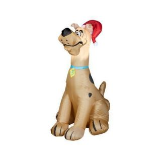 Hanna Barbera Scooby Doo Holiday Airblown Lighted Christmas Outdoor