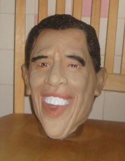 President Barack Obama Halloween Mask Adult One Size New