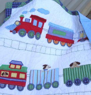 Pottery Barn Kids Sports Football Crib Bedding Set New