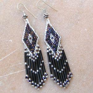 Wolf Earring Bead Pattern Bead Pattern By ThreadABead
