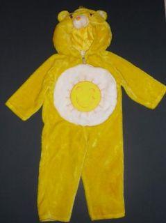 Funshine Bear Care Bears Yellow Sun Plush Halloween Costume s 1 2