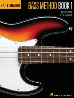 Hal Leonard Bass Guitar Method Book 1 Beginner Lessons