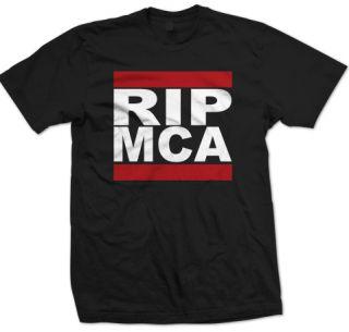 Rip MCA T Shirt Beastie Boys Adam MCA Yauch Tribute Shirt