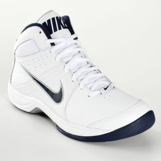Nike Overplay VI Mens Basketball Shoes Size 13 White Blue
