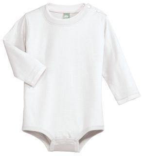 Cargo Infant Baby Long Sleeve Ringspun Cotton Snap Onesie CAR22