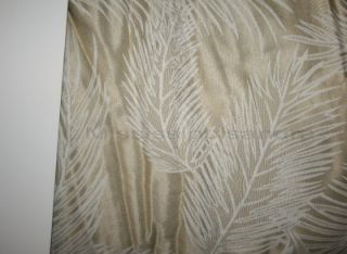 Comforter Set Gold Brown Green Fern Ribbon Eva Mendes Vida New