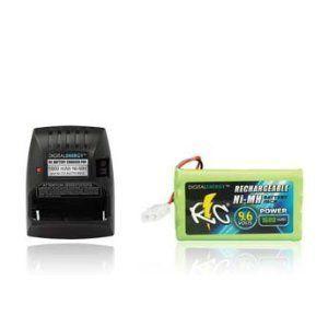 Digital Energy 9 6V 1600mAh Ni MH RC Car Battery and Charger